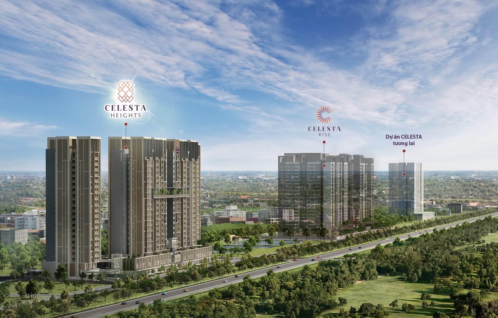 Dự án Celesta Heights 【Bảng Giá & CSBH Chi Tiết】
