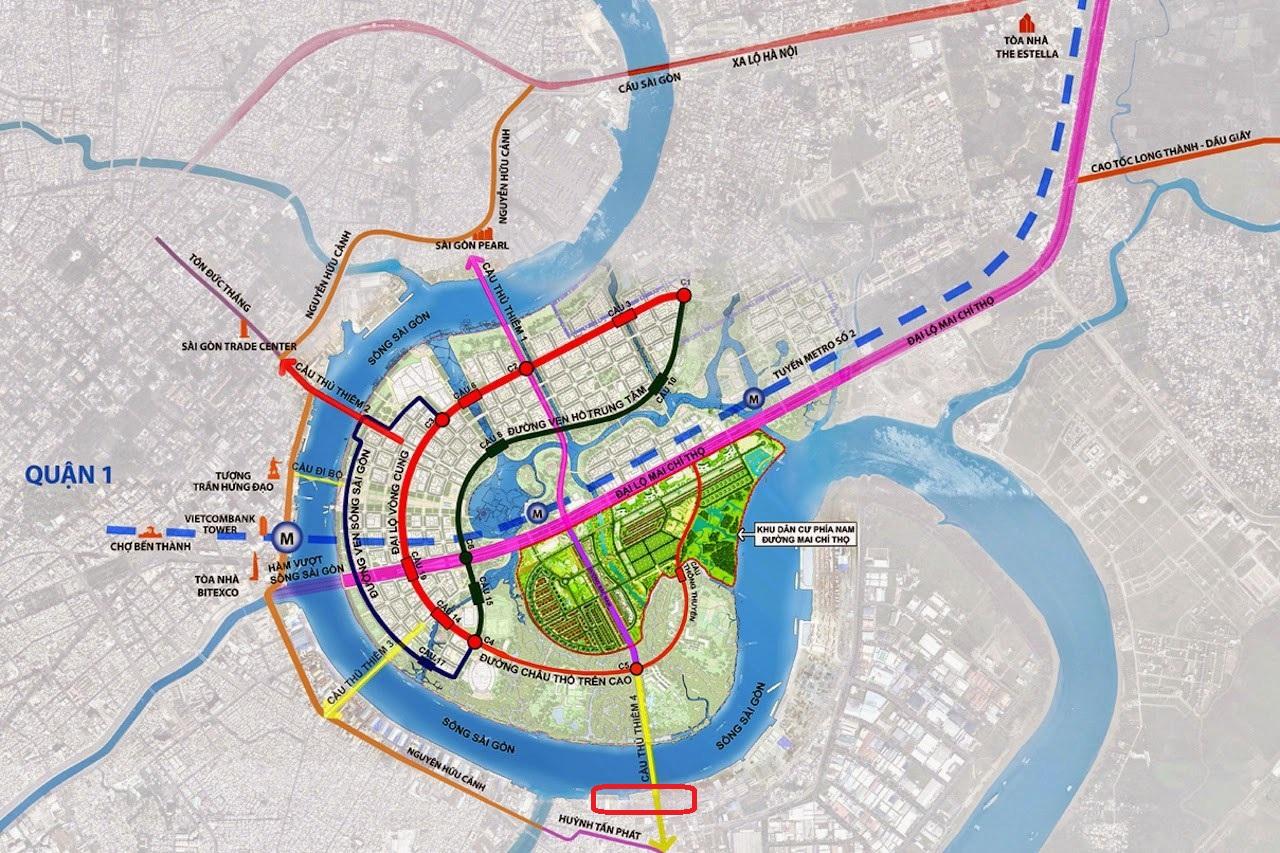 hạ tầng Nam Sài Gòn
