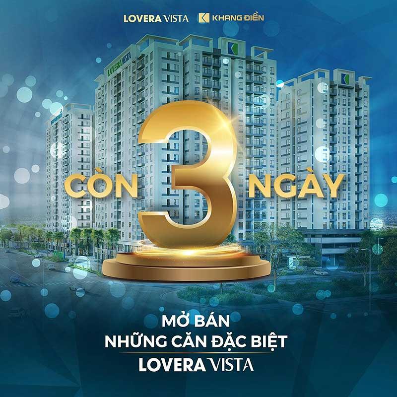 Ngày 11/07/2020- Lovera Vista mở bán các căn hộ đặc biệt