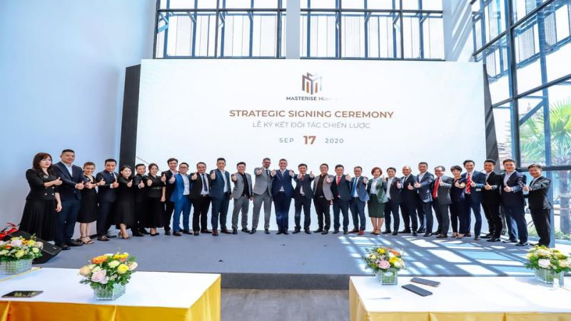 Smartland vinh dự phân phối chiến lược dự án căn hộ Masteri Centre Point