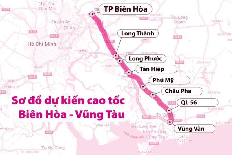 Cao tốc Biên Hòa – Vũng Tàu vực dậy thị trường BĐS khu Nam
