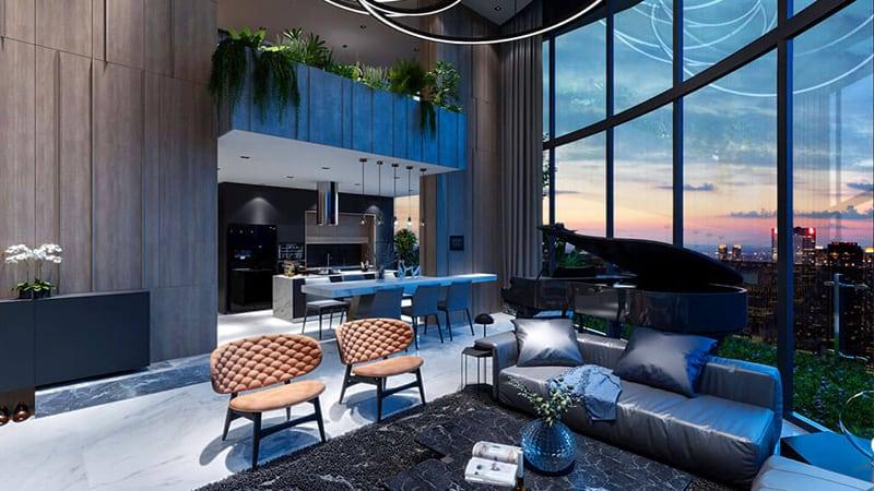 Nội thất Sunshine Diamond River được lựa chọn kĩ lưỡng từ những thương hiệu cao cấp Châu Âu
