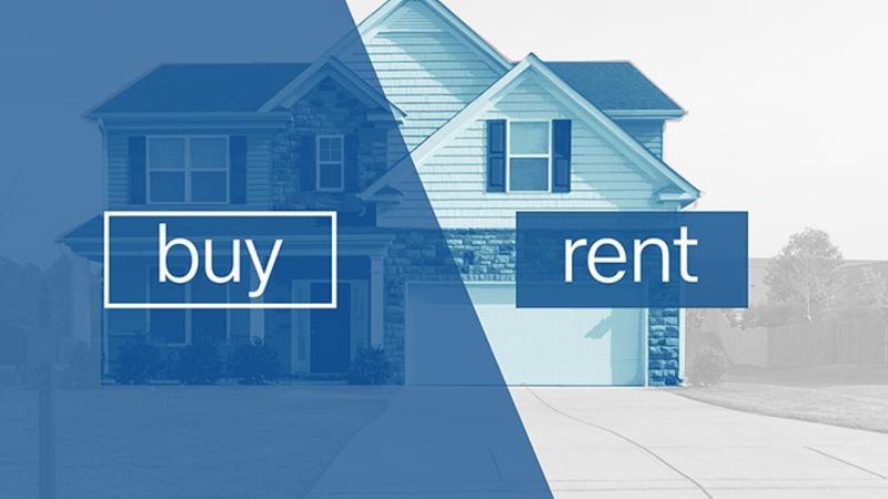 Bài toán nên mua nhà hay thuê nhà vẫn đang là một ẩn số