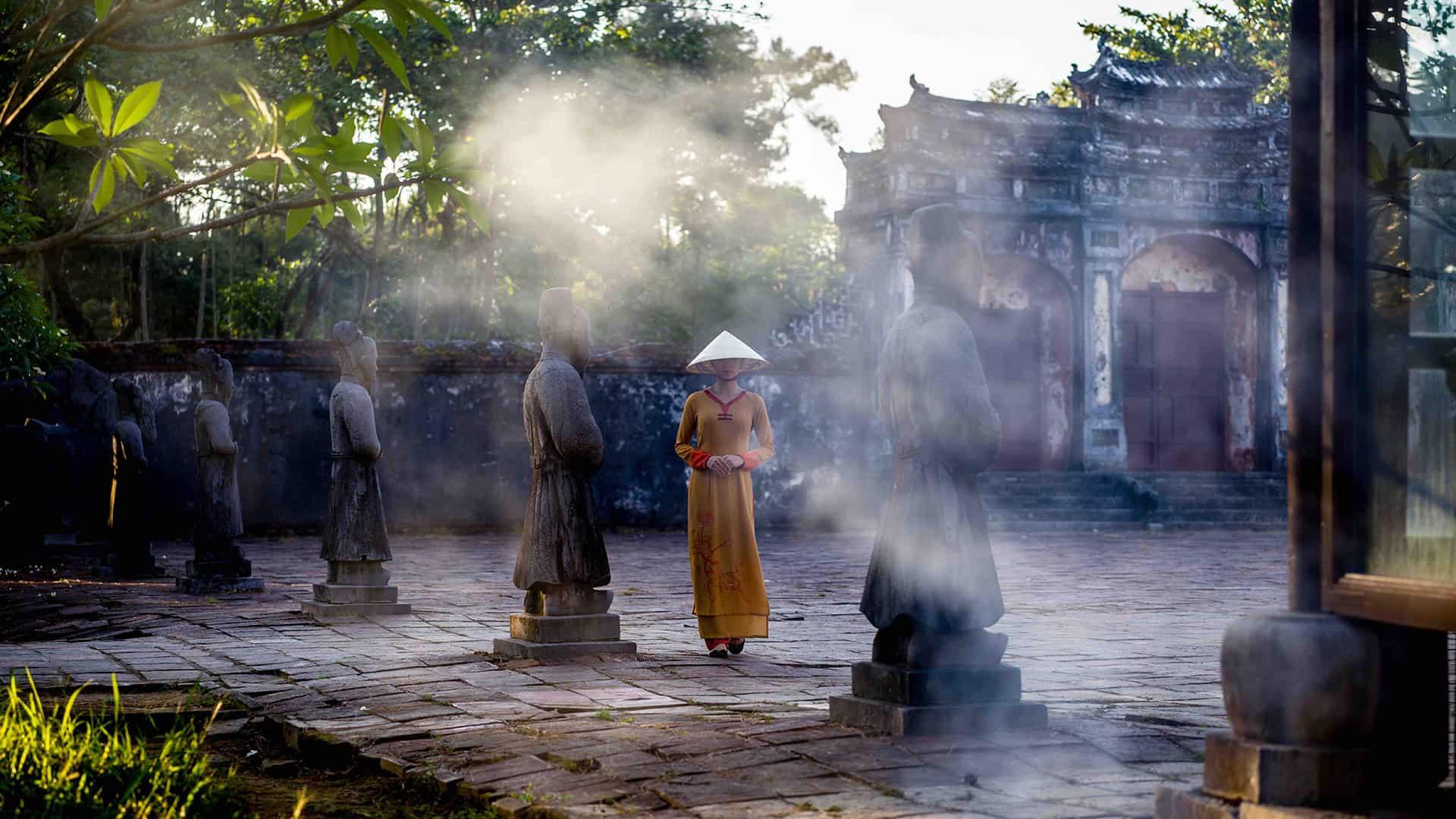 Nét đẹp giá trị văn hóa tại Huế.