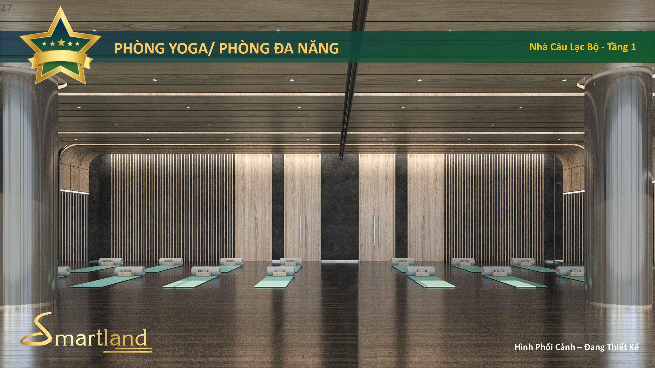 phòng yoga dự án Celesta Heights