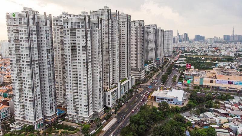 Đường Nguyễn Hữu Thọ – con đường sầm uất nhất khu Nam Sài Gòn