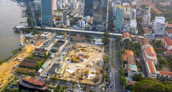 Hình ảnh Nhà ga Ba Son của tuyến metro số 1