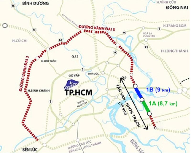 Đường Vành đai 3 TP HCM chuẩn bị khởi công