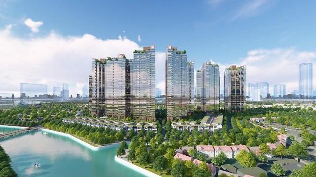Sunshine City Sài Gòn dành 70% tổng diện tích xây dựng để phát triển hệ thống cảnh quan xanh trong lành, đáp ứng được các tiêu chuẩn sống quốc tế khắt khe.