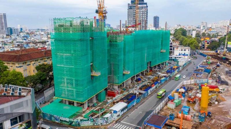 Tiến độ thi công One Central - dự án đang xây dựng của Masterise Homes